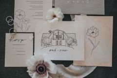 Soft Romantic Wedding Stationery