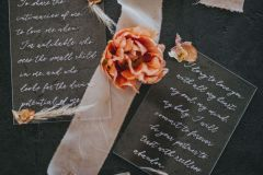 Acrylic Wedding vows