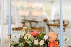 Dusty Blue and Peach Wedding Inspiration